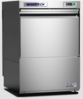 Washtech Professional Dishwasher/Glass Washer with 500mm Rack