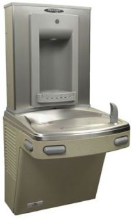 Frigmac Wall Mounted Water Fountain with Bottle Filler