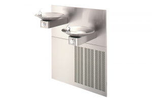 Enware Wall Mounted Double Height Deluxe Chiller Drinking Fountain