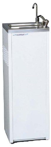 Enware freestanding Water chiller white finish With Bubbler & Carafe filler