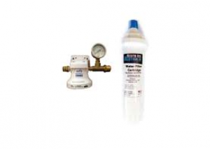 Scotsman IMFS Single Water Filtration System With Pressure Gauge