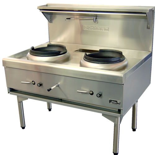 Goldstein Double Burner Wok Cooker