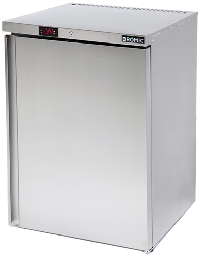 Bromic single solid door under counter Bar Fridge