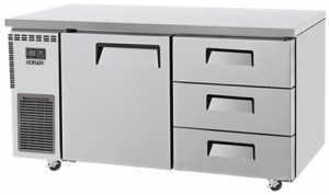 Skipio 3 Drawers 1 Door Undercounter Fridge SUR15-3D-3