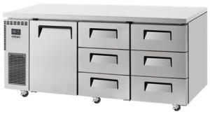 Skipio 6 Drawers 1 Door Undercounter Fridge SUR18-3D-6