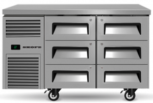 Skope Reflex 6 refrigerated Drawer under Counter Fridge