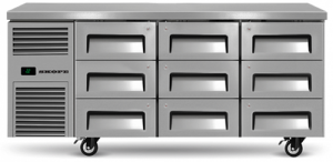 Skope Reflex 9 refrigerated Drawer under Counter Fridge
