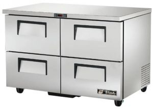 True four refrigerated Drawer under Counter Fridge