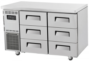 Turbo Air 6 Drawers Undercounter Freezer