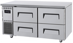 Turbo Air 4 Drawers Undercounter Freezer KUF15-2D-4