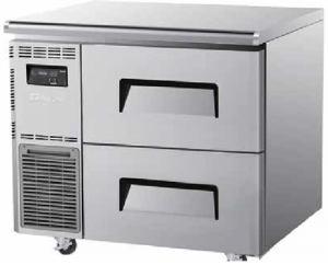 Turbo Air 2 Drawers Undercounter Freezer KUF9-2D-2