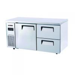 Turbo Air 2 Drawers 1 Door Undercounter Freezer KUF12-2D-2