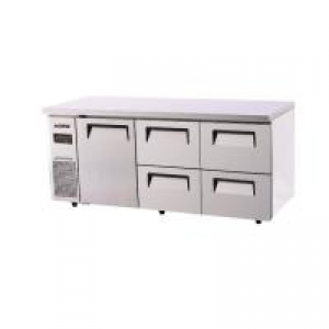 Turbo Air 4 Drawers 1 Door Undercounter Fridge KUR18-2D-4