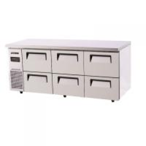 Turbo Air 6 Drawers Undercounter Fridge KUR18-2D-6