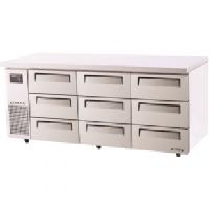 Turbo Air 9 Drawers Undercounter Fridge KUR18-3D-9