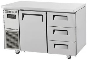 Turbo Air 3 Drawers 1 door Undercounter Freezer