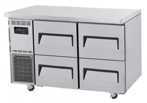 Turbo Air 4 Drawers Undercounter Fridge KUR12-2D-4