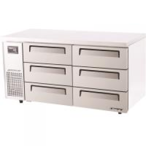 Turbo Air 6 Drawers Undercounter Fridge KUR15-3D-6