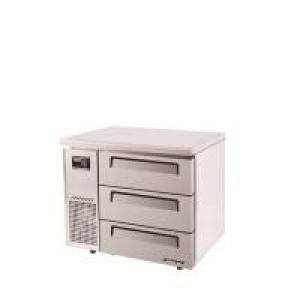 Turbo Air 3 Drawers Undercounter Fridge KUR9-3D-3