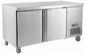 Saltas double solid door under counter Fridge CUS1500