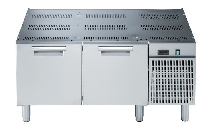 Electrolux 700XP refrigerated base with 2 drawers