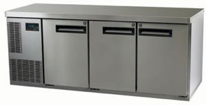 Skope Pegasus 1/1 three solid Door under counter Fridge