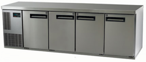 Skope Pegasus 1/1 four solid Door under counter Fridge