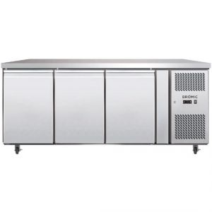 Bromic three solid door under counter Fridge