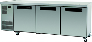 Skope Counterline three solid Door under counter Fridge