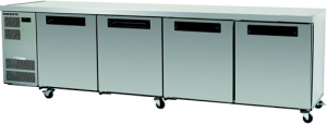 Skope Counterline Four solid Door under counter Fridge