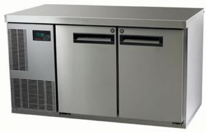Skope Pegasus 1/1 two solid Door under counter Fridge
