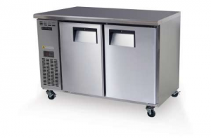 Skope Centaur two solid Door under counter Fridge