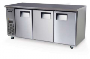 Skope Centaur three solid Door under counter Fridge