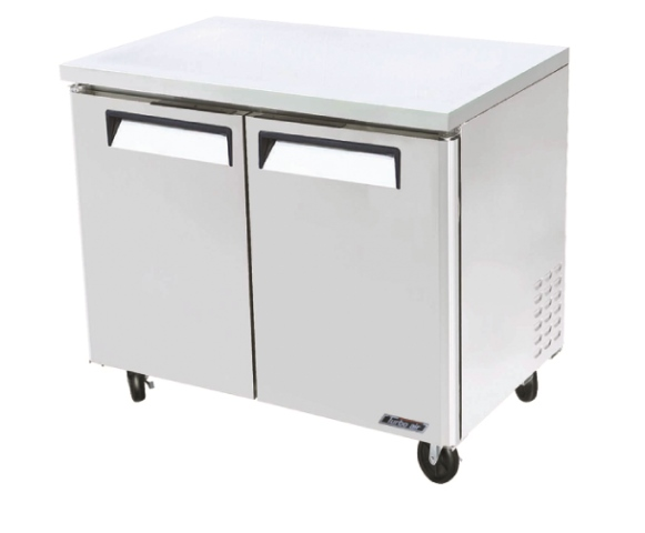 Turbo Air Undercounter 2 Door Modular Freezer 1225mm Wide