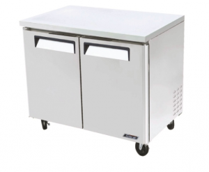 Turbo Air Undercounter 2 Door Modular Chiller 1225mm Wide