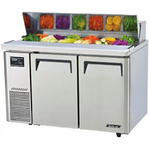 Turbo Air Food Prep Fridge With Hood 1500mm Wide KHR12-2
