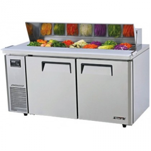 Turbo Air Food Prep Fridge With Hood 1500mm Wide KHR15-2