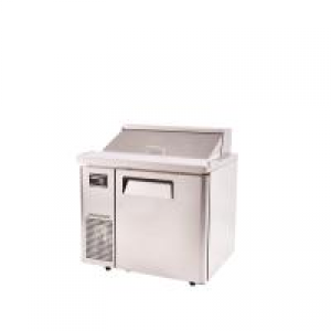 Turbo Air Food Prep Fridge With Hood 900mm Wide KHR9-1