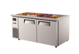 Turbo Air Food Buffet Prep Fridge 1500mm Wide KSR15-2