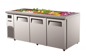 Turbo Air Food Buffet Prep Fridge 1800mm Wide KSR18-3