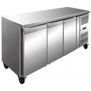 FED 3 Door Bench Fridge 386 Litre