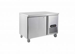 Saltas single solid door under counter Freezer 1200MM