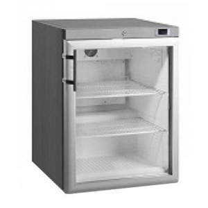 Anvil Aire single Glass door under counter Freezer