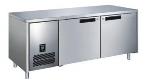 Glacian BCS61420 Double Door Slimline Under Bench Fridge