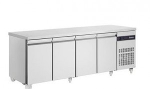 Glacian BCS62350 4 Door Slimline Under Bench Fridge