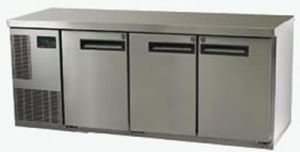 Skope Pegasus three solid door under Counter Freezer