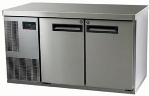 Skope Pegasus two solid door under Counter Freezer