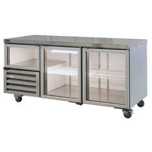 Anvil UBG6180 Back Bar 2.5 door Fridge
