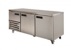 Anvil UBS1800 Underbench 2.5 door Fridge