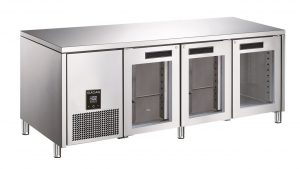 Glacian BCG61420 Triple Door Slimline Under Bench Fridge